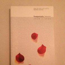 Libretos de ópera: LIBRETO PROGRAMA COMPLETO 3 TEMPORADA PALAU DE LES ARTS 2008/2009. Lote 77852429