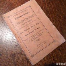 Libretos de ópera: LIBRETO ORIGINAL DEL ESTRENO DE LA VERBENA DE LA PALOMA EN BUENOS AIRES, 1894. Lote 80850291