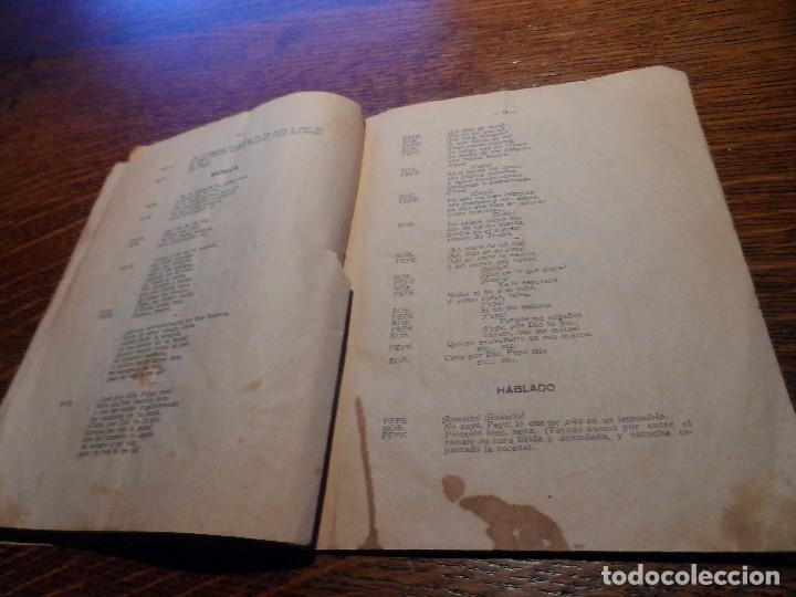 Libretos de ópera: LIBRETO DE LA ZARZUELA EN UN ACTO -EL PUÑAO DE ROSAS-, ARNICHES, 7ª EDICIÓN, AÑO 1907 - Foto 4 - 80857155