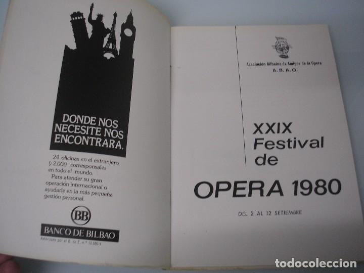 Libretos de ópera: I CAPULETI E I MONTECCHI - G. Verdi - XXIX Festival de Ópera 1980 - ABAO - Foto 3 - 83769520