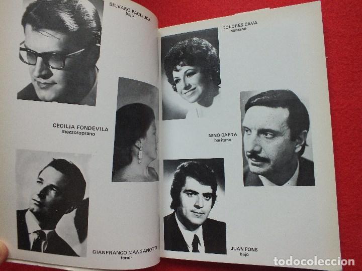Libretos de ópera: ABAO BILBAO XXV FESTIVAL DE OPERA 1976 BIZET CARMEN LIBRETO CON ARGUMENTO, FOTOGRAFIA CORO - Foto 9 - 85056104