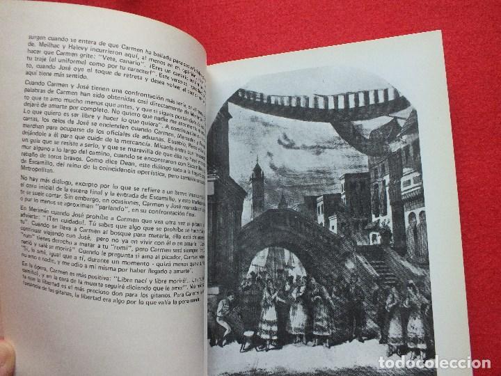 Libretos de ópera: ABAO BILBAO XXV FESTIVAL DE OPERA 1976 BIZET CARMEN LIBRETO CON ARGUMENTO, FOTOGRAFIA CORO - Foto 15 - 85056104