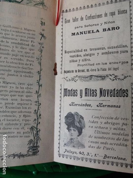 Libretos de ópera: PROGRAMA GRAN TEATRO DEL LICEO 1900 A 1901 COMPAÑIA DE OPERA ITALIANA - SIGNOR BONCI - MIGNON - Foto 3 - 88924064
