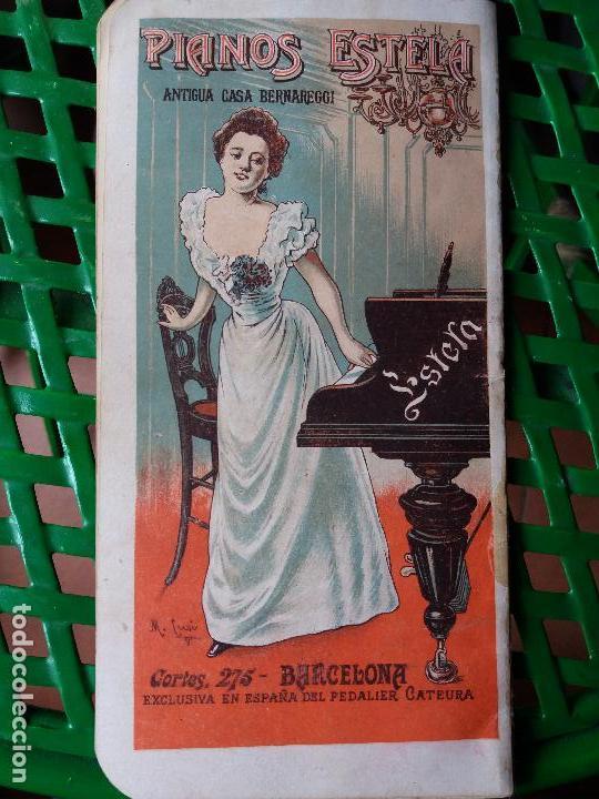 Libretos de ópera: PROGRAMA GRAN TEATRO DEL LICEO 1900 A 1901 COMPAÑIA DE OPERA ITALIANA - SIGNOR BONCI - MIGNON - Foto 4 - 88924064