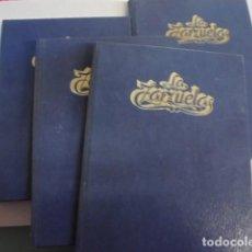 Libretos de ópera: ENCICLOPEDIA HISTORIA DE LA ZARZUELA - COMPLETA 4 TOMOS - ZACOSA - IMPECABLE - ENVIO GRATIS. Lote 94597611