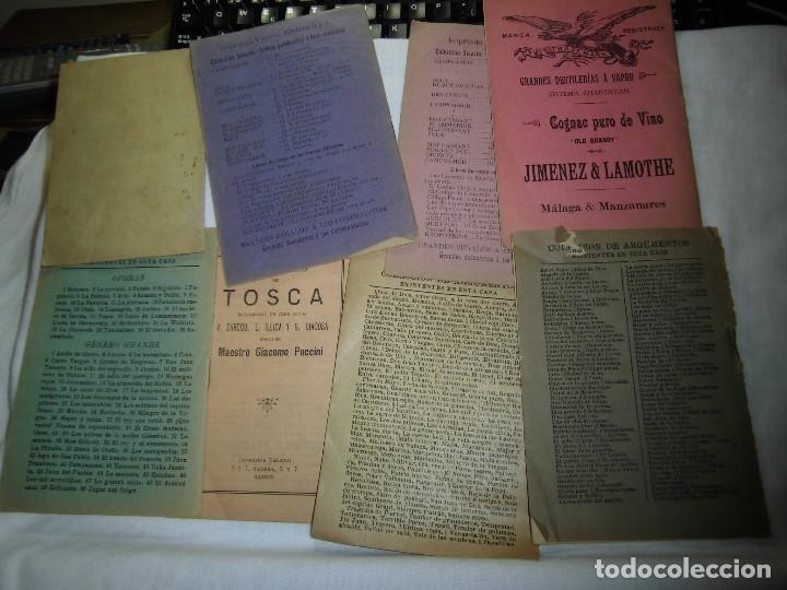 Libretos de ópera: 8 ARGUMENTOS DE OPERA 1900 LEER LOS TITULOS Y DESCRIPCION - Foto 6 - 97447515