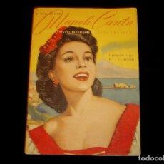Libretos de ópera: CANCIONES DE OPERA NAPOLITANAS 1947. Lote 101234647