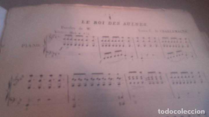 Libretos de ópera: ANTIGUO LIBRO DE PARTITURAS DE CANTO Y PIANO . LA FILLE DE MADAME ANGOT Y 40 MELODIES F. SCHUBERT - Foto 2 - 102601979