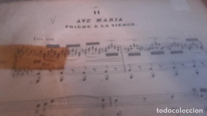 Libretos de ópera: ANTIGUO LIBRO DE PARTITURAS DE CANTO Y PIANO . LA FILLE DE MADAME ANGOT Y 40 MELODIES F. SCHUBERT - Foto 4 - 102601979