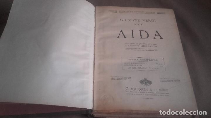 Libretos de ópera: ANTIGUO LIBRO DE 3 OPERAS DE VERDI . AIDA- LA TRAVIATA - UN BALLO IN MASCHERA - Foto 6 - 104366139
