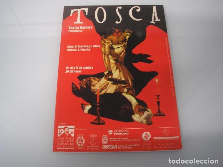 TOSCA - G. PUCCINI - TEATRO GAYARRE - PAMPLONA - OCTUBRE 1999 (Música - Libretos de Opera)