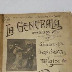Libretos de ópera: LIBRO DE PARTITURAS. Lote 106146294