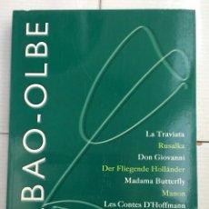 Libretos de ópera: ABAO-OLBE - 54 TEMPORADA 2005/06. Lote 112829983