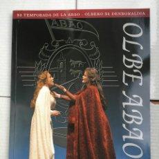 Libretos de ópera: ABAO-OLBE - ANUARIO 51 TEMPORADA (2002/03). Lote 112831803