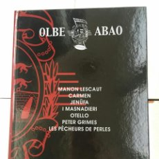 Libretos de ópera: ABAO-OLBE - 52 TEMPORADA (2003/04). Lote 112831959
