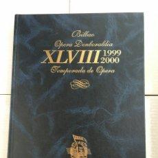 Libretos de ópera: ABAO-OLBE - 48 TEMPORADA. Lote 112832492