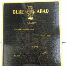 Libretos de ópera: ABAO-OLBE - 51 TEMPORADA. Lote 112832654