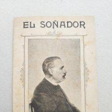 Libretos de ópera: OBRA EL SOÑADOR POR EL MAESTRO SALVADOR GINER VIDAL AÑO 1901 LETRA AUGUSTO DANVILA JALDERO. Lote 112958007