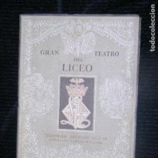 Libretos de ópera: F1 I CAVALIERI DI EKEBU TEMPRADA INVIERNO 1953-1954 GRAN TEATRO DEL LICEO. Lote 115725939