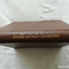 Livrets d'opéra: RICHARD WAGNER, OBRAS COMPLETAS DRAMÁTICAS, POR OTTO SINGER, CERCA 1920, EN ALEMÁN. Lote 116551975