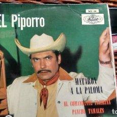 Libretos de ópera: E P (VINILO) DE LALO GONZALEZ EL PIPORRO AÑOS 60. Lote 118154095