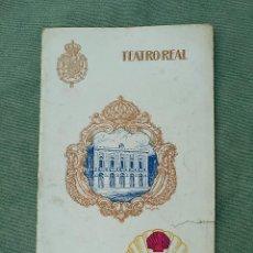 Livrets d'opéra: RUSALKA - PROGRAMA TEATRO REAL - 1924. Lote 120965195