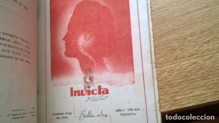 Libretos de ópera: Valencia 1946. Teatro Principal. Programa de Opera Italiana. Abundante publicidad. Fotos - Foto 3 - 122453883