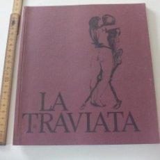Libretos de ópera: PROGRAMA DE OPERA LA TRAVIATA 1982. BEBA EDITIONS. PROGRAMME THÉATRE DE GENEVE TEATRO GINEBRA SUIZA. Lote 123549399