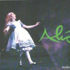 Libretos de ópera: LINDSAY KEMP COMPANY : LEWIS CARROLL ALICE. Lote 123699135