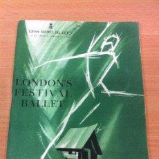Libretos de ópera: PROGRAMA OFICIAL DEL GRAN TEATRO DEL LICEO - TEMPORADA DE PRIMAVERA 1964. Lote 57033489