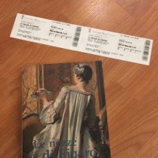 Libretos de ópera: LIBRETO Y ENTRADAS LE NOZZE DI FÍGARO. MOZART. TEATRO REAL DE MADRID 2003. Lote 135824490