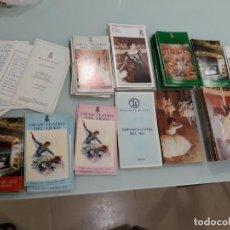 Libretos de ópera: LOTE DE 58 PROGRAMAS - TEATRO DEL LICEO - TEMPORADAS Y OBRAS 1977/1985. Lote 138795462