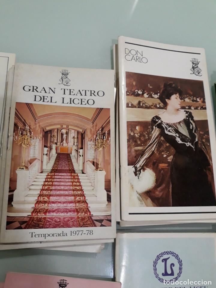 Libretos de ópera: LOTE DE 58 PROGRAMAS - TEATRO DEL LICEO - TEMPORADAS Y OBRAS 1977/1985 - Foto 4 - 138795462