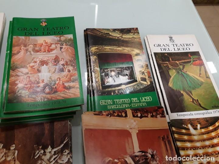Libretos de ópera: LOTE DE 58 PROGRAMAS - TEATRO DEL LICEO - TEMPORADAS Y OBRAS 1977/1985 - Foto 5 - 138795462
