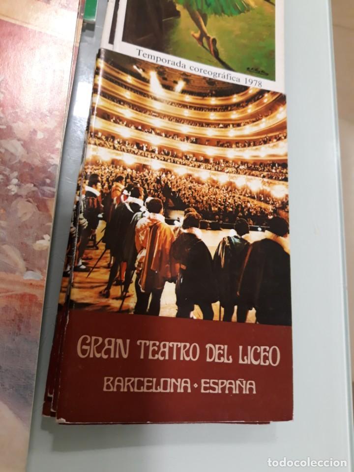 Libretos de ópera: LOTE DE 58 PROGRAMAS - TEATRO DEL LICEO - TEMPORADAS Y OBRAS 1977/1985 - Foto 6 - 138795462