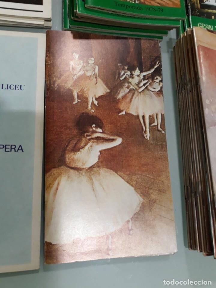 Libretos de ópera: LOTE DE 58 PROGRAMAS - TEATRO DEL LICEO - TEMPORADAS Y OBRAS 1977/1985 - Foto 8 - 138795462
