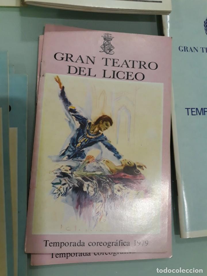 Libretos de ópera: LOTE DE 58 PROGRAMAS - TEATRO DEL LICEO - TEMPORADAS Y OBRAS 1977/1985 - Foto 10 - 138795462