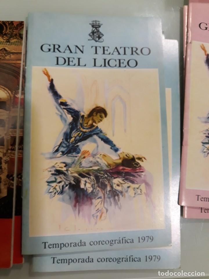 Libretos de ópera: LOTE DE 58 PROGRAMAS - TEATRO DEL LICEO - TEMPORADAS Y OBRAS 1977/1985 - Foto 11 - 138795462