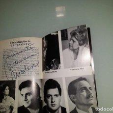 Libretos de ópera: PROGRAMA OPERA CON FIRMA ORIGINAL DE MARIANA NICOLESCO. Lote 138796370