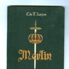 Libretos de ópera: MERLIN - ISAAC ALBENIZ - OPERA - TEATRO TÍVOLI 1950. Lote 143760890