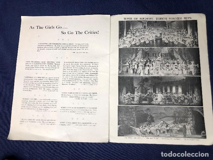 Libretos de ópera: LIBRETO FOLLETO MUSICAL COMEDIA AS THE GIRLS GO BOBBY CLARK MICHAEL TODD NEW YORK AÑOS 50 30,5X23CMS - Foto 6 - 145596154