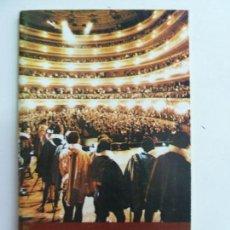 Libretos de ópera: GRAN TEATRO DEL LICEO. BARCELONA. ESPAÑA. TEMPORADA ÓPERA 1979-80. Lote 147139170