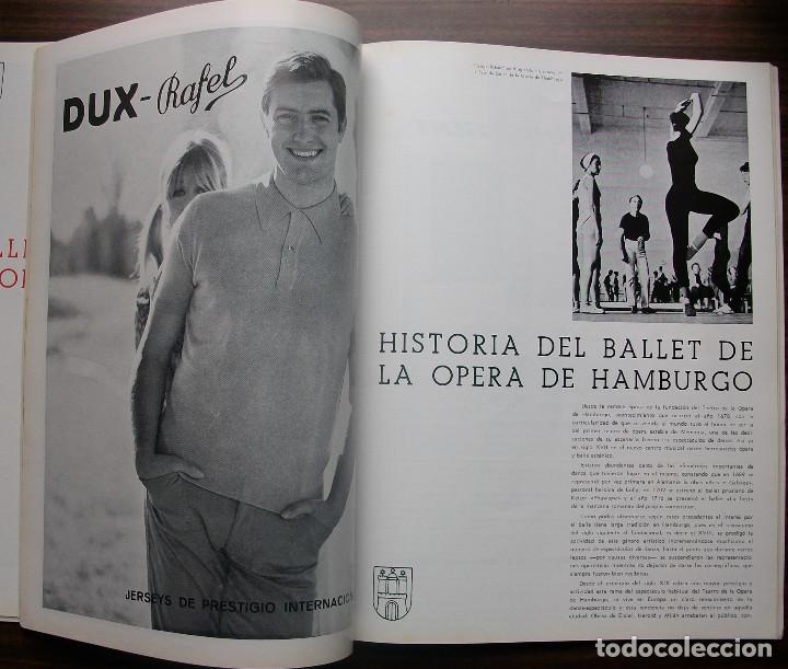 Libretos de ópera: CATALOGO GRAN TEATRO DEL LICEO: FESTIVAL DE BALLET 1968 - Foto 5 - 147756242