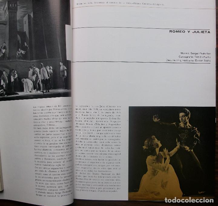 Libretos de ópera: GRAN TEATRO DEL LICEO. BALLET DE BELGRADO. TEMPORADA DE PRIMAVERA 1965 - Foto 6 - 147760946