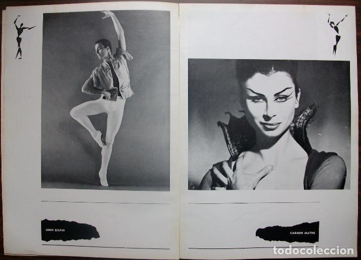 Libretos de ópera: GRAN TEATRO DEL LICEO. TEMPORADA COREOGRAFICA DE PRIMAVERA 1966 - Foto 3 - 147761282