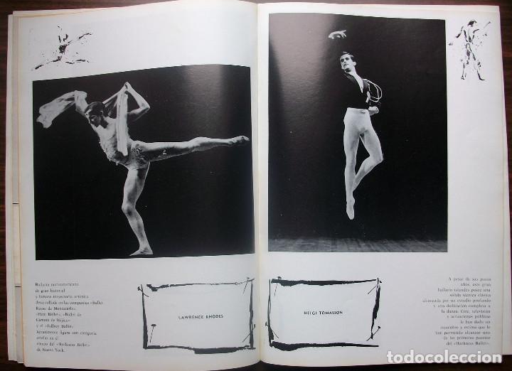 Libretos de ópera: GRAN TEATRO DEL LICEO. TEMPORADA COREOGRAFICA DE PRIMAVERA 1966 - Foto 4 - 147761282