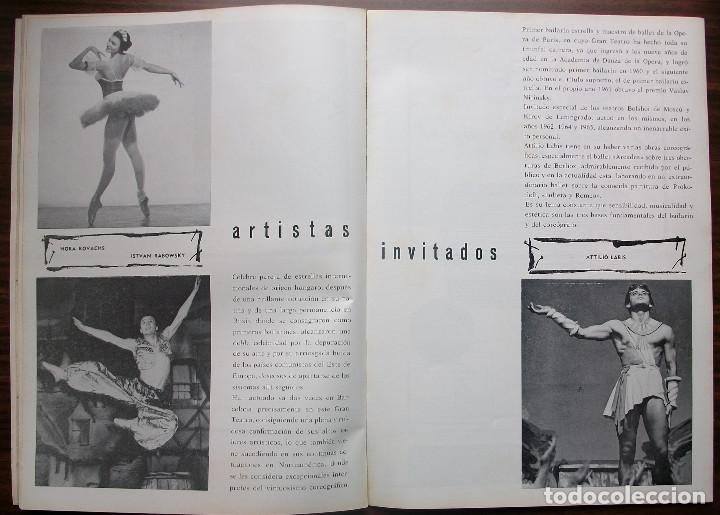 Libretos de ópera: GRAN TEATRO DEL LICEO. TEMPORADA COREOGRAFICA DE PRIMAVERA 1966 - Foto 5 - 147761282