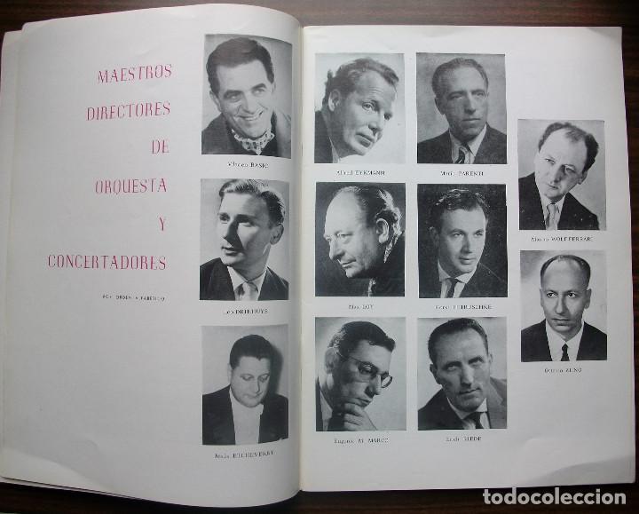 Libretos de ópera: GRAN TEATRO DEL LICEO. EMPRESA: JUAN A. PAMIAS. TEMPORADA DE INVIERNO 1963-64 - Foto 3 - 147761606