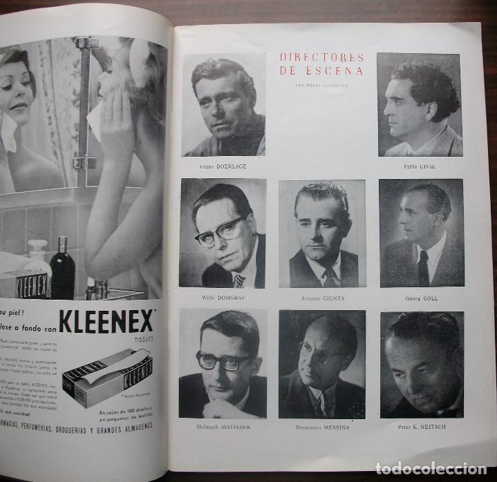 Libretos de ópera: GRAN TEATRO DEL LICEO. EMPRESA: JUAN A. PAMIAS. TEMPORADA DE INVIERNO 1963-64 - Foto 4 - 147761606
