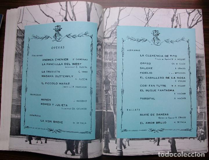 Libretos de ópera: GRAN TEATRO DEL LICEO. EMPRESA: JUAN A. PAMIAS. TEMPORADA DE INVIERNO 1963-64 - Foto 5 - 147761606